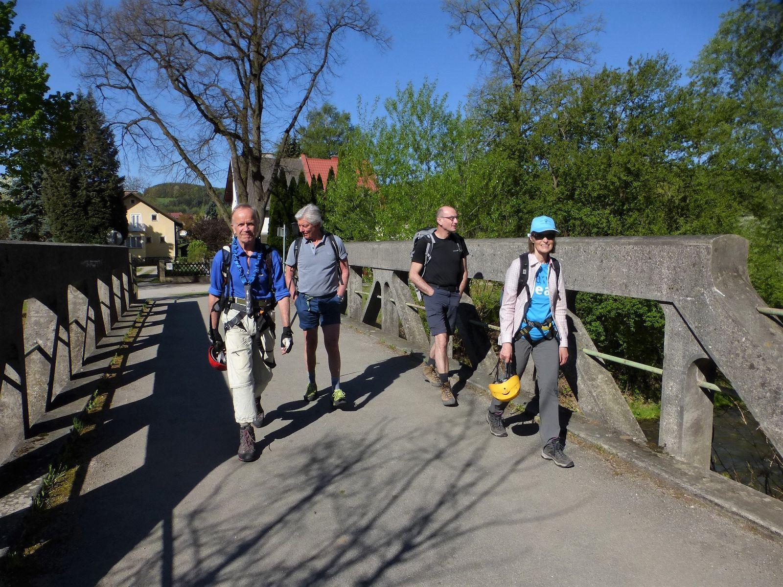 Pittentaler Klettersteig : Oetk klosterneuburg 2018 04 21 pittentaler und währinger klettersteig